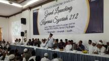 Ketua Pelaksana Grand Launching 212, Ade Juraynaldi (Ahmad Fadli/INDUSTRY.co.id)