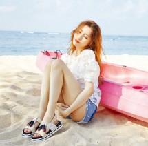 Sunmi majalah Nylon Korea (Foto: Nylon Korea)
