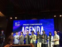 Jumpa pers Agenda Show 2018 bersama Bekraf dan kelima brand lokal fashion streetwear di Hard Rock Cafe, Jakarta. (Foto: Dina Astria)
