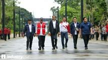 Presiden Jokowi Tinjau Kesiapan Kompleks Olahraga GBK