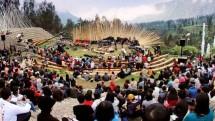 Panggung Amphiteater Tempat Gelaran Jazz Gunung 2018