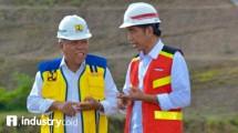 Menteri Pekerjaan Umum dan Perumahan Rakyat Basuki Hadimuljono dan Presiden RI Joko Widodo