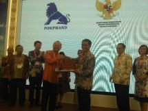 Direktur Jenderal Peternakan dan Kesehatan Hewan, I Ketut Diarmita pada saat pembukaan acara Indolivestock Expo & Forum 2018 hari ini 4 Juli 2018 di JCC Senayan Jakarta.