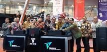 Peresmian obligasi I Pelindo IV di BEI Kamis (5/7/2018) (Foto Dok Industry.co.id)
