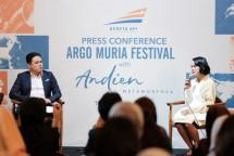 PT KAI menggandeng penyanyi Andien dalam Argo Muria Festival. (Dok PT KAI)