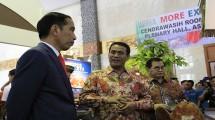 Presiden Jokowi dan Mentan Amran Andi Sulaiman