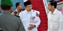Presiden Jokowi dan Gubernur NTB Tuan Guru Bajang (Foto Dok Industry.co.id)