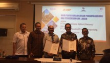 PT Jakarta Industrial Estate Pulogadung (JIEP) atau kawasan industri Pulogadung menandatangani kerja sama dengan PT Hotel Indonesia Natour (HIN) bangun hotel di kawasan industri Pulogadung (Foto: INDUSTRY.co.id)