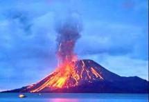 Gunung Anak Krakatau (Foto banten)