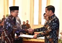 Presiden Jokowi dan TGB (Foto Setkab)