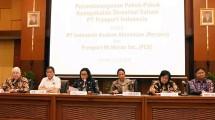 Penandatangan Pokok -Pokok Perjanjian Divestasi Saham PT Freeport Indonesia (PTFI)
