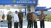 Presiden Jokowi Resmikan Tol Kartosuro - Sragen