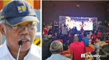 Suasana Nobar Final Piala Dunia di Kementerian PUPR (Hariyanto/INDUSTRY.co.id)