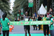 Pelari Kenya David Kibet Raih Juara MILO Jakarta International 10K 2018 (Foto: dok Industry.co.id)