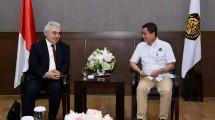 Direktur Eksekutif IEA, Fatih Birol bertemu Menteri ESDM Ignasius Jonan