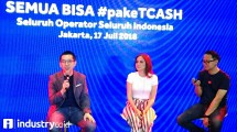 Danu Wicaksana, CEO TCASH (kiri) - (Hariyanto/INDUSTRY.co.id)
