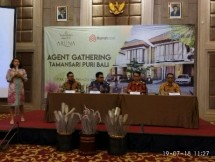 Konferensi pers peluncuran Cluster Aruna Tamansari Puri Bali Depok (Foto: Ridwan/Industry.co.id)