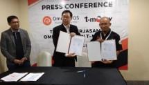 PT Omega Teknologi Indonesia (Omega Pos) menjajaki kerja sama dengan PT Telekomunikasi Indonesia (Telkom) dalam sistem pembayaran cashless yaitu melalui layanan digital T Money dan point of sales yang disediakan Omega Pos