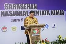 Menteri Perindustrian Airlangga Hartarto pada acara Sarasehan OTNAS (Foto: Dok. Kemenperin)