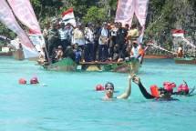 Obor Asian Games di Raja Ampat Papua (Foto Dok Industry.co.id)
