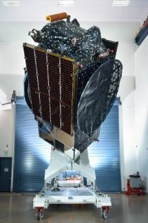 Satelit Merah Putih ( Photo courtesy: SSL)