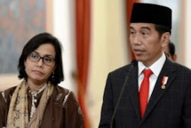 Presiden Jokowi dan Menkeu Sri Mulyani (Foto Setkab)