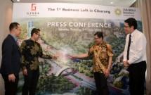 GM Corporate Marketing Jababeka Residence, Handoyo Lim saat acara konferensi pers peluncuran Ginza Jababeka (Foto: Dok. Jababeka Residence)
