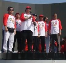 "Menteri Perindustrian Airlangga Hartarto saat sambutan dalam acara ""Kolaborasi Industri untuk Indonesia Bersih"" (Foto: Dok. Kemenperin)"