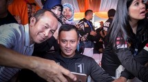 Calon Gubernur DKI Jakarta Agus Harimurti Yudhoyono. (Donal Husni/NurPhoto via Getty Images)