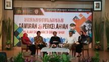 FGD Promoter ketujuh dengan tema Penanggulangan Tawuran dan Perkelahian Yang Melibatkan Pelajar atau Anak di Bawah Umur di Wisma Bhayangkari, Jakarta Selatan, Kamis (9/8).