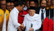 Presiden Jokowi dan KH Maruf Amin (Foto Dok Industry.co.id)