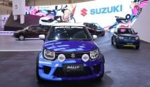 Ajang GIIAS 2018, PT Suzuki Indomobil Sales untuk menghadirkan beraneka ragam mobil konsep di area booth Suzuki. Salah satu mobil konsep yang dihadirkan selama GIIAS 2018 adalah Suzuki Ignis Rally Concept