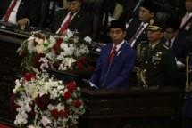 Presiden Jokowi hadiri Sidang Tahunan MPR 2018 (Foto Setkab)