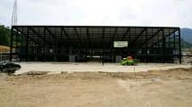 Pembangunan Pasar Perbatasan Entikong
