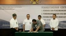 Ditjen Cipta Karya tandatangani kontrak dengan para penyedia jasa untuk pelaksanaan konstruksi