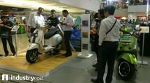 PT Piaggio Indonesia gelarpameran Mall-to-Mall Exhibition.