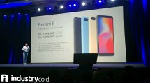 Peluncuran Xiaomi Redmi 6 dqn Redmi 6A (Hariyanto/INDUSTRY.co.id)