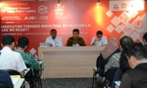 Konferensi pers Indonesia Transport, Supply Chain & Logistics (ITSCL) 2018 (Foto: Dok. Industry.co.id)