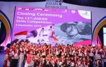 Kontingen Toyota Indonesia dalam Ajang Asean Skill Competition 2018 (Foto: Dok. Toyota Indonesia)