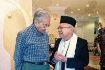KH Maruf Amin dan PM Malaysia (Foto Dok Industry.co.id_