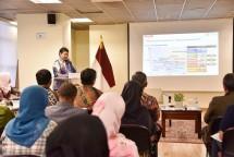 Menteri Perindustrian Airlangga Hartarto saat memaparkan implementasi Industri 4.0 di depan diaspora Indonesia di Korsel (Foto: Dok. Kemenperin)