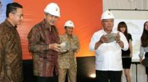 Menteri Basuki Lakukan Peletakan Batu Pertama Pembangunan Gedung PII