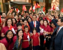 Presiden Jokowi di Hanoi Vietnam (Foto Setkab)
