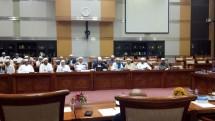 Habib Rizieq di Komisi III DPR