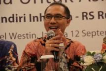 Iwan Pasila, Direktur Utama Mandiri Inhealth (Foto Rizki Meirino)