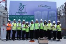 MGM Propertindo melaksanakan Topping Off Tower Tulip apartemen B Residence yang berlokasi di Jl. Edutown Kav III BSD City, pada Kamis (13/9/2018).