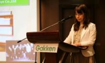 Presiden Direktur dari Gakken Educational Co., Ltd, Toru Tsuchiya