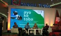 Talk Show 'Ayo ke Toba' (Foto: Ridwan/Industry.co.id)