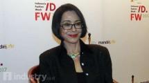 Presiden Indonesia Fashion Week 2017,Poppy Dharsono. (Hariyanto/INDUSTRY.co.id)