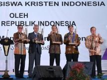 Presiden Jokowi dalam acara Kongres GMKI (Foto Dok Industry.co.id)